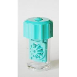 Pojemniczek do twardych soczewek - koszyk (zielony)