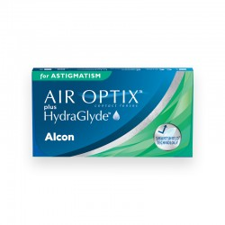 Air Optix Plus HydraGlyde for Astigmatism 6 szt.