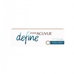 Jednodniowe soczewki 1 Day Acuvue® define™ Natural Sparkle™  30 szt. Johnson&Johnson