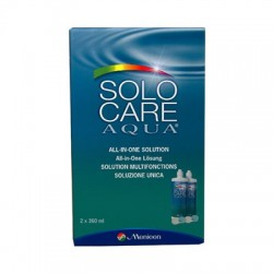 SOLOCARE AQUA 2x360ml Menicon