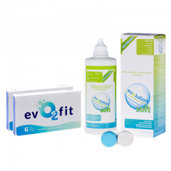 EVO2FIT 2 OP. x 6 SZT. + PŁYN EVO2LUTION SOFT 500 ML
