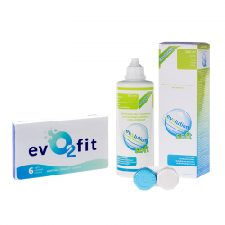 evO2fit 6 szt. + płyn evO2lution soft 360 ml
