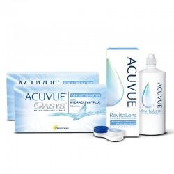 Zestaw 2 x ACUVUE® OASYS for ASTIGMATISM + płyn ACUVUE™ RevitaLens 360 ml